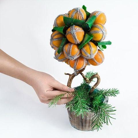 Елочный шар своими руками из лент фото 60